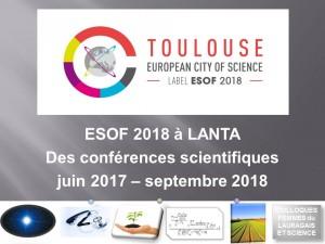 ESOF 2018 à LANTA