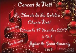 affiche concert noel